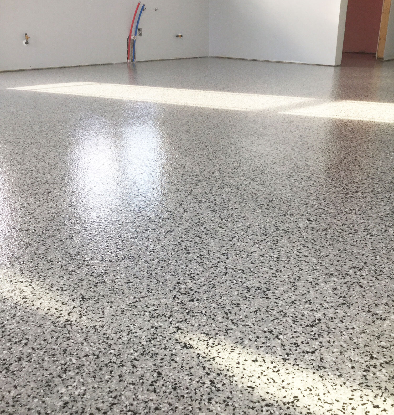 closeup of the texture of flooring