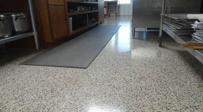 coated kitchen flooring